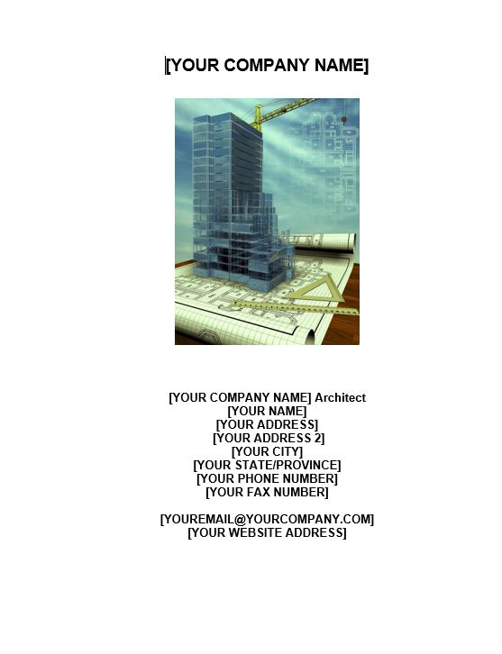 Architect Business Plan
